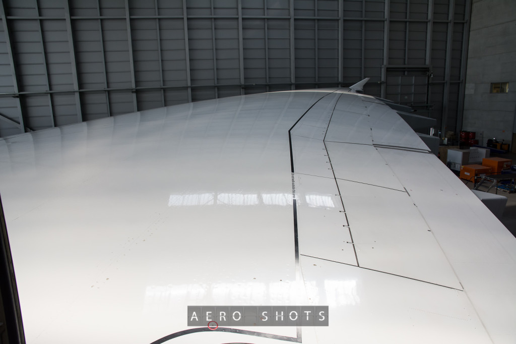 An interesting fact about the A380 is that it's wing span is larger than the length of the fuselage.   The A380 is the only airliner that can say that.