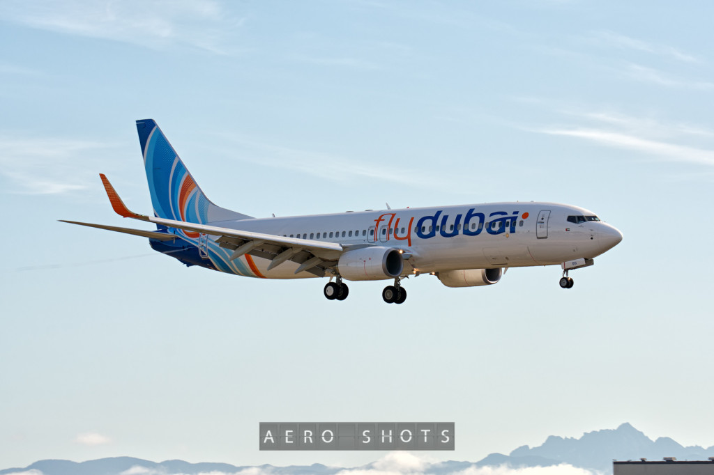 FlyDubai's newest 737