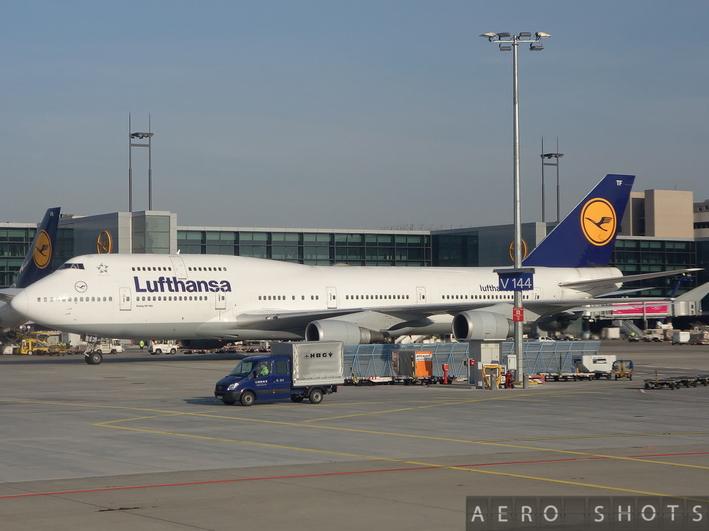 Lufthansa's D-ABTF 'Thuringen' joined the fleet in April 1991.