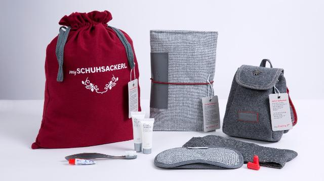The 3 new versions of Austrian's Business Class Amenity Kits