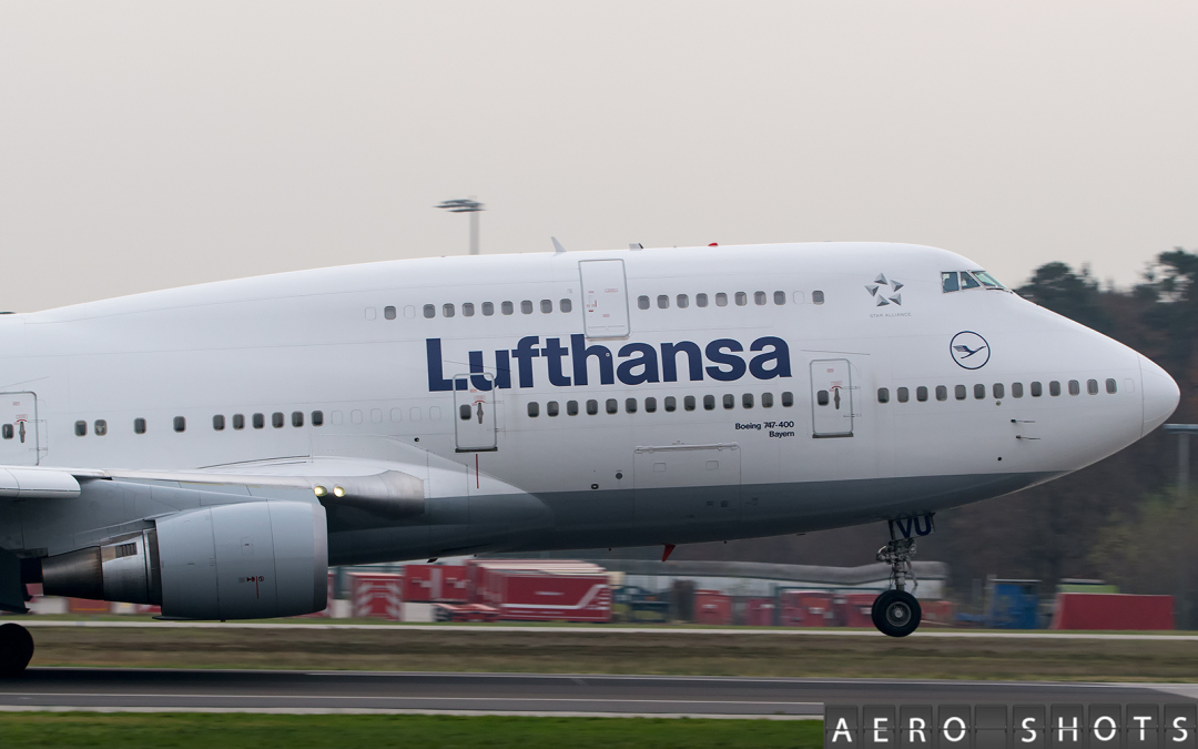 LUFTHANSA Updates 747 Operations Between Frankfurt and Berlin
