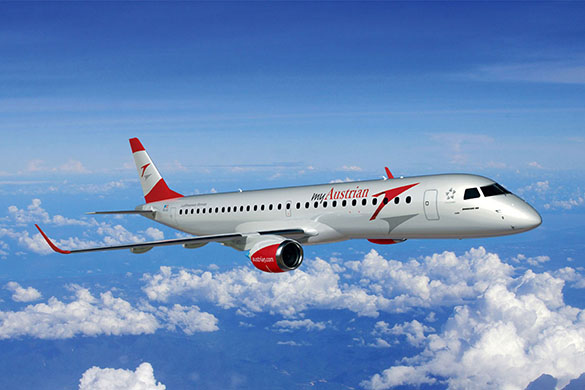 Austrian's First ERJ Is Set To Join The Fleet
