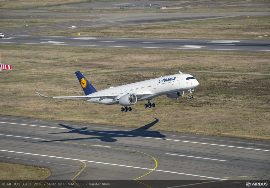 LUFTHANSA Announces Initial A350 Flight Training / Appearance Schedule Around Germany